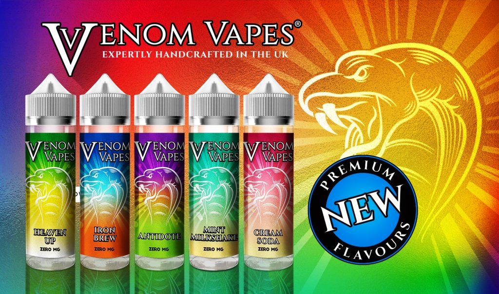 New Venom Vapes Range!